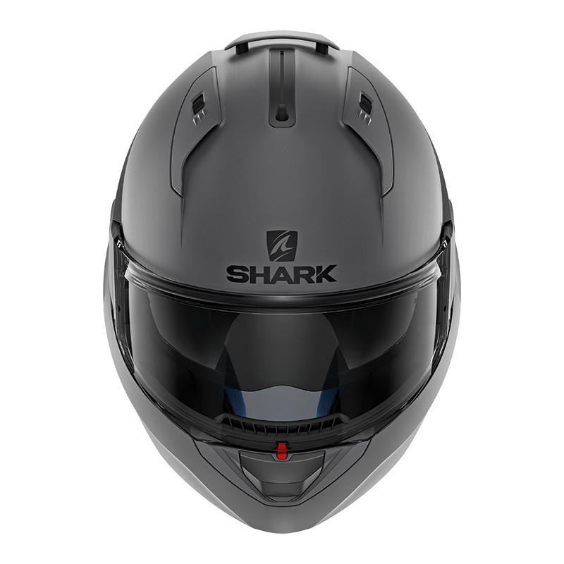 casque shark evo one 2 gris mat casque shark modulable japauto accessoires. Black Bedroom Furniture Sets. Home Design Ideas