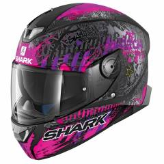 Casque Shark Skwal 2 Switch Rider 2 Noir Mat Rose