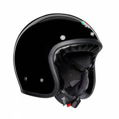 Casque AGV X70 Solid Noir - Noir
