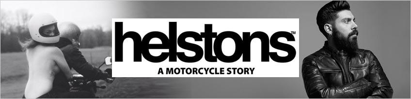 Helstons, spécialiste blouson moto en cuir