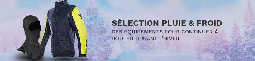 Sélection Équipement Pluie et Froid Moto Scooter