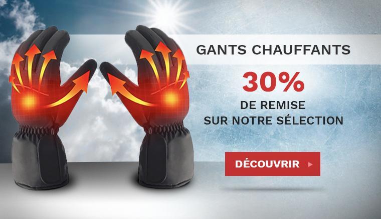 Gants Chauffants Moto Promo