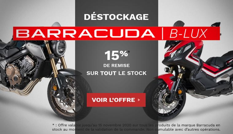 Déstockage Marque Barracuda Moto