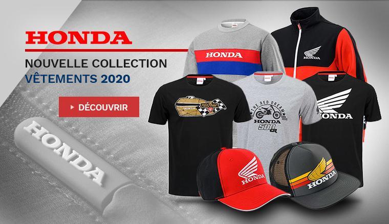 Nouvelle collection vêtements Honda 2020