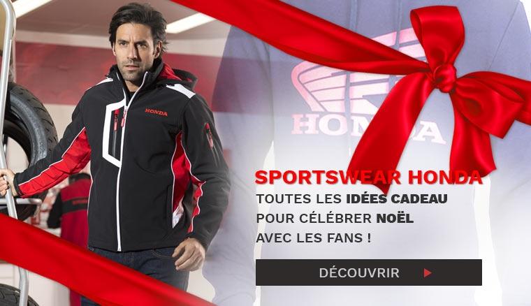 Idée cadeau, la gamme sportswear Honda !