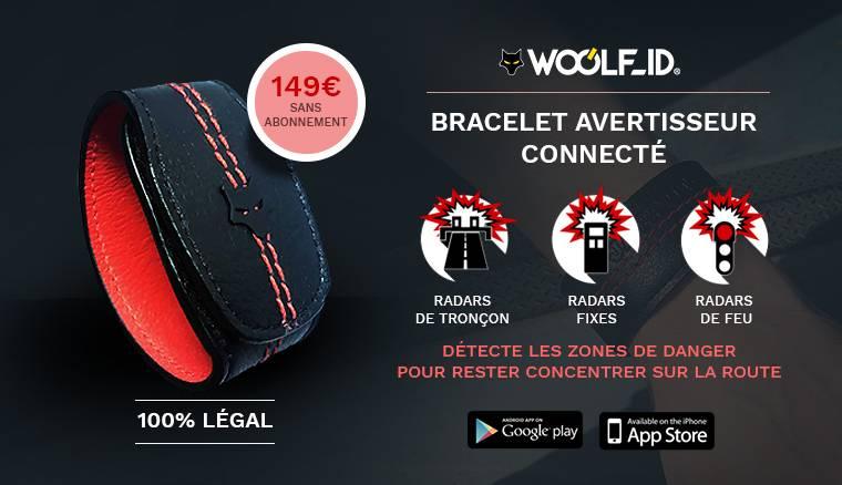 Bracelet Avertisseur Connecté Woolf_ID