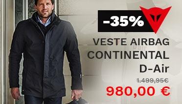 Veste Dainese Continental D-Air