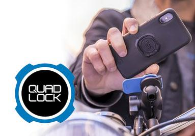 Supports Smartphone Quad Lock