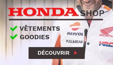Vêtements Honda